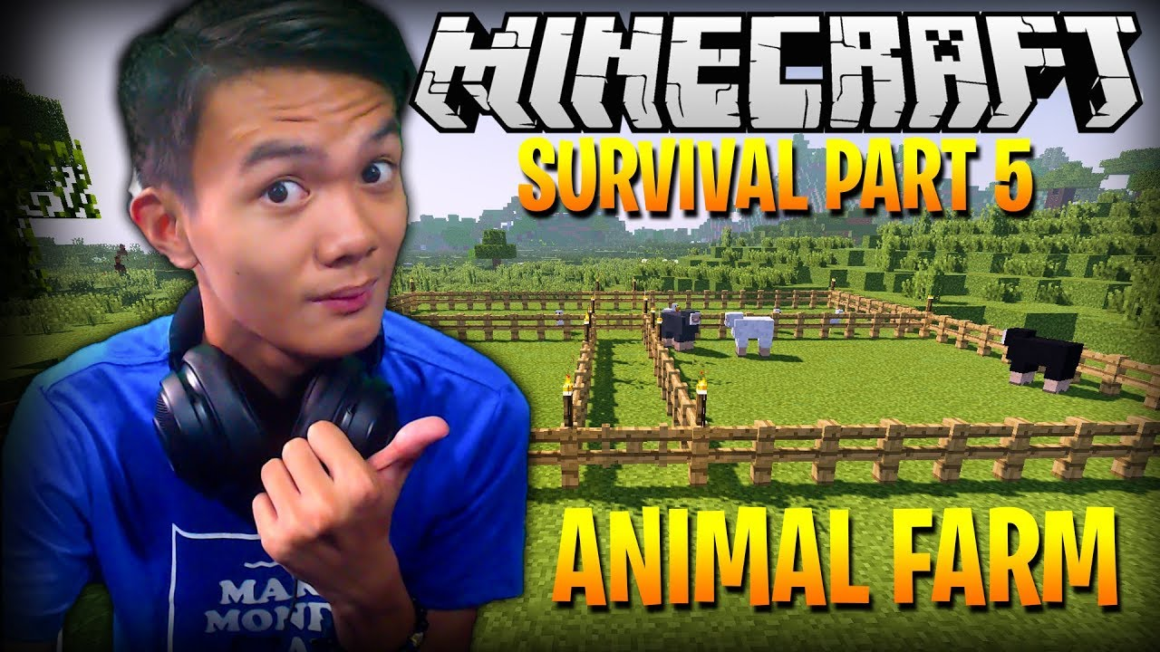 ANIMAL FARM | Minecraft (Survival) - Part 5