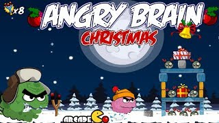 Angry Brain Christmas Walkthrough