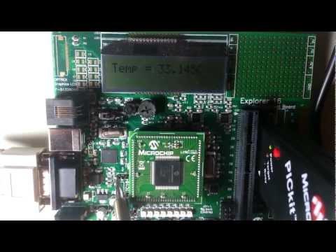 ADC Temp sensor Thermometer