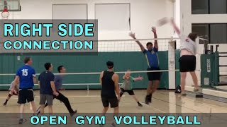 Right Side Connection | Open Gym Volleyball (4/11/19) PART 2