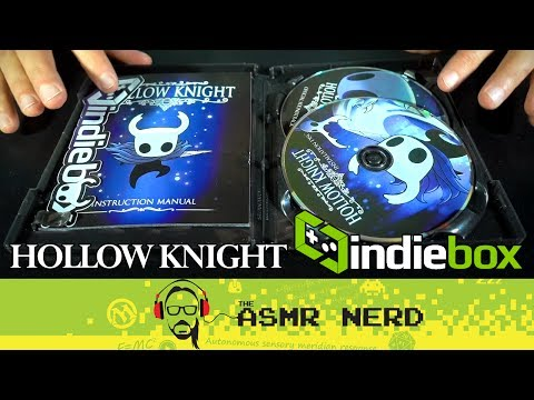 ASMR Whisper   IndieBox   Hollow Knight Collector's Edition Unboxing