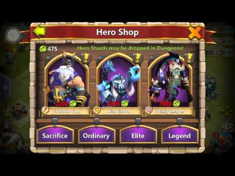 Castle Clash How To Get Legendary Heroes For Free