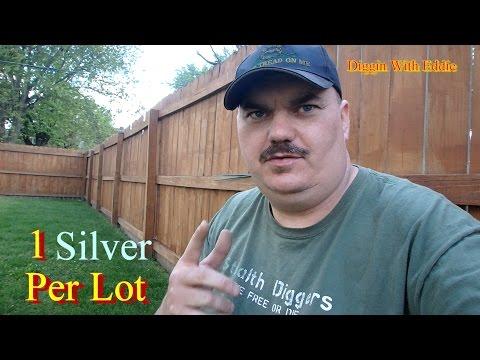 #115 Metal Detecting Garrett AT Pro silver coin
