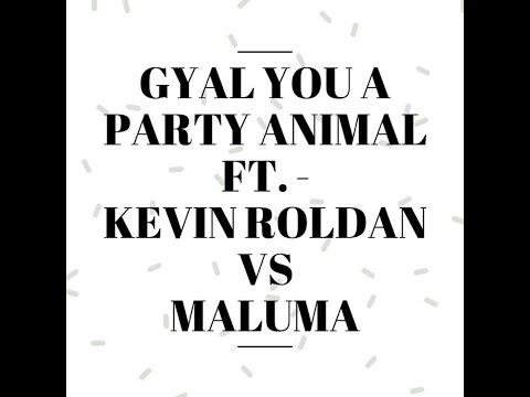 Kevin Roldan Vs Maluma - Party Animal (Preview 2016)