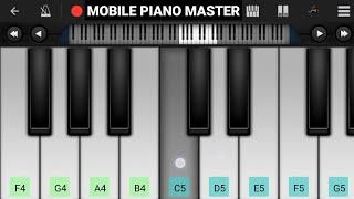 Rabba (Heropanti) Piano || Tiger Shroff ,Kriti Sanon || Mobile Piano Tutorial || Perfect Piano