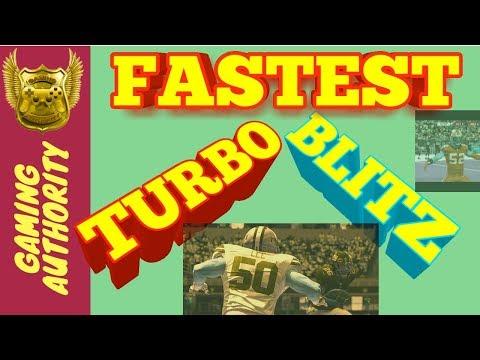 FASTEST TURBO BLITZ IN MADDEN 19 PLUS NICKEL 3-3-5 LOOP
