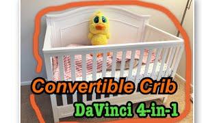 Good Baby Crib? DaVinci Charlie 4-in-1 Convertible Crib