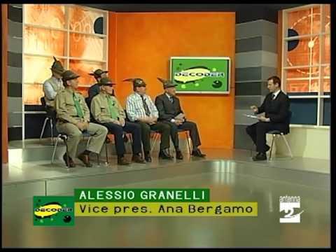 Decoder Alpini il dopo adunata a Bolzano16052012 Antenna 2 TV
