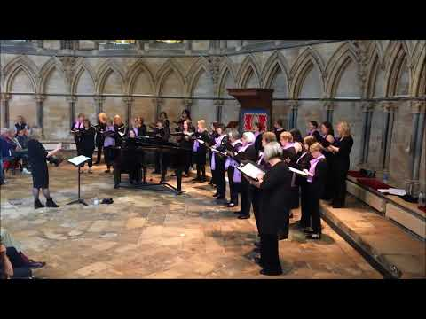 Di Voci Ladies Choir - Amazing Grace - Recital at Lincoln Cathedral