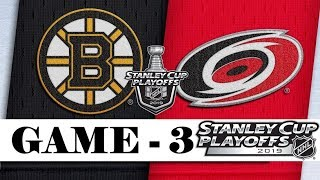 Boston Bruins Vs Carolina Hurricanes  Eastern Conference Final  Game 3  Stanley Cup 2019  Обзор