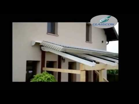 Glasscon Gmbh Rectractable Aluminum Louvered Roof System