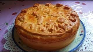 Праздничный грибной пирог!