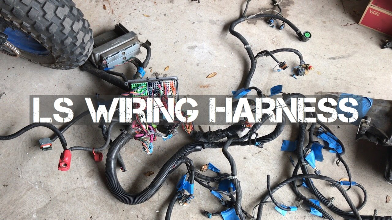 build ls wiring harness for the fj60 building your own ls wiring harness building ls wiring harness [ 1280 x 720 Pixel ]
