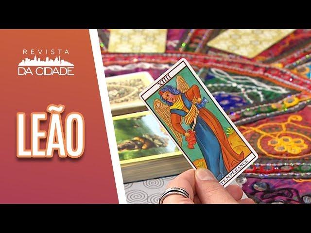 Previsão de Leão 23/07 a 22/08- Revista da Cidade (11/03/19)