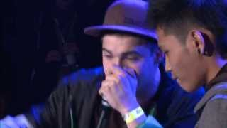 Repeat youtube video Slizzer vs Shawn Lee - Best 16 - 3rd Beatbox Battle World Championship