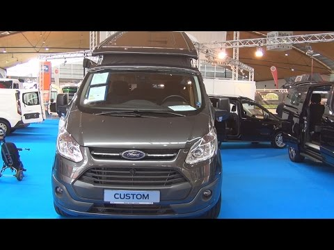 Ford Transit Custom Nugget 2.2 Duratorq 155 hp (2016) Exterior and Interior in 3D