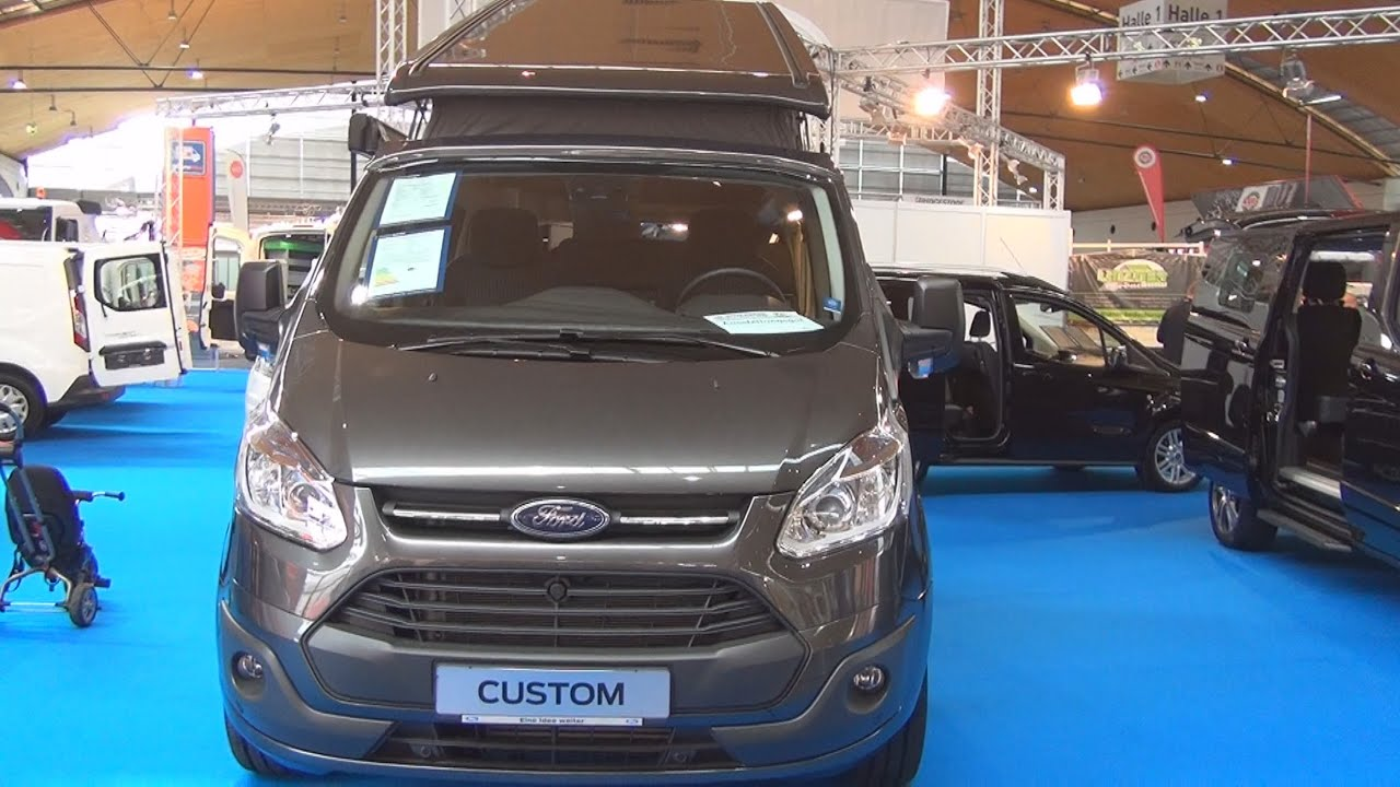 ford transit custom nugget 2 2 duratorq 155 hp 2016 exterior and interior in 3d youtube. Black Bedroom Furniture Sets. Home Design Ideas