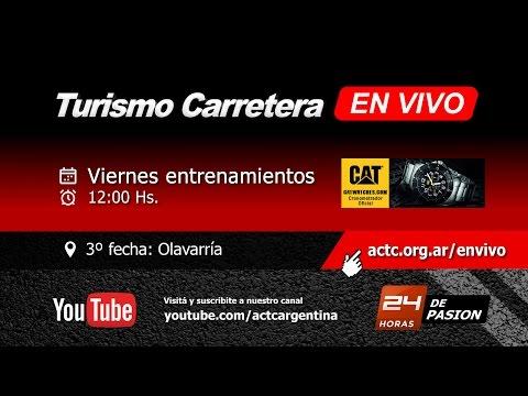 03-2017) Olavarría: Viernes Entrenamientos TC