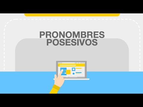 Gramática Inglés Pronombres Posesivos Bluebloc Notes