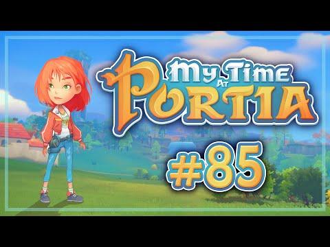 Прохождение My Time At Portia #85 Первый ключ