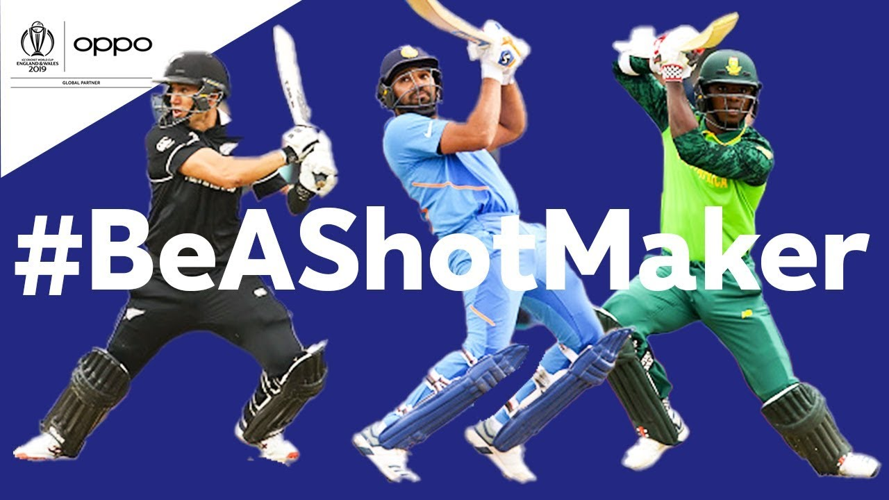 Oppo #BeAShotMaker | South Africa vs India - Shot of the Day | ICC Cricket World Cup 2019