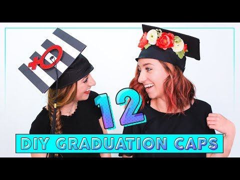 Graduation Prep Begins! | DIY Graduation Caps
