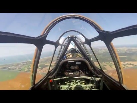 Flying the North American T-6 Texan Warbird |GoPro Hero 3+|