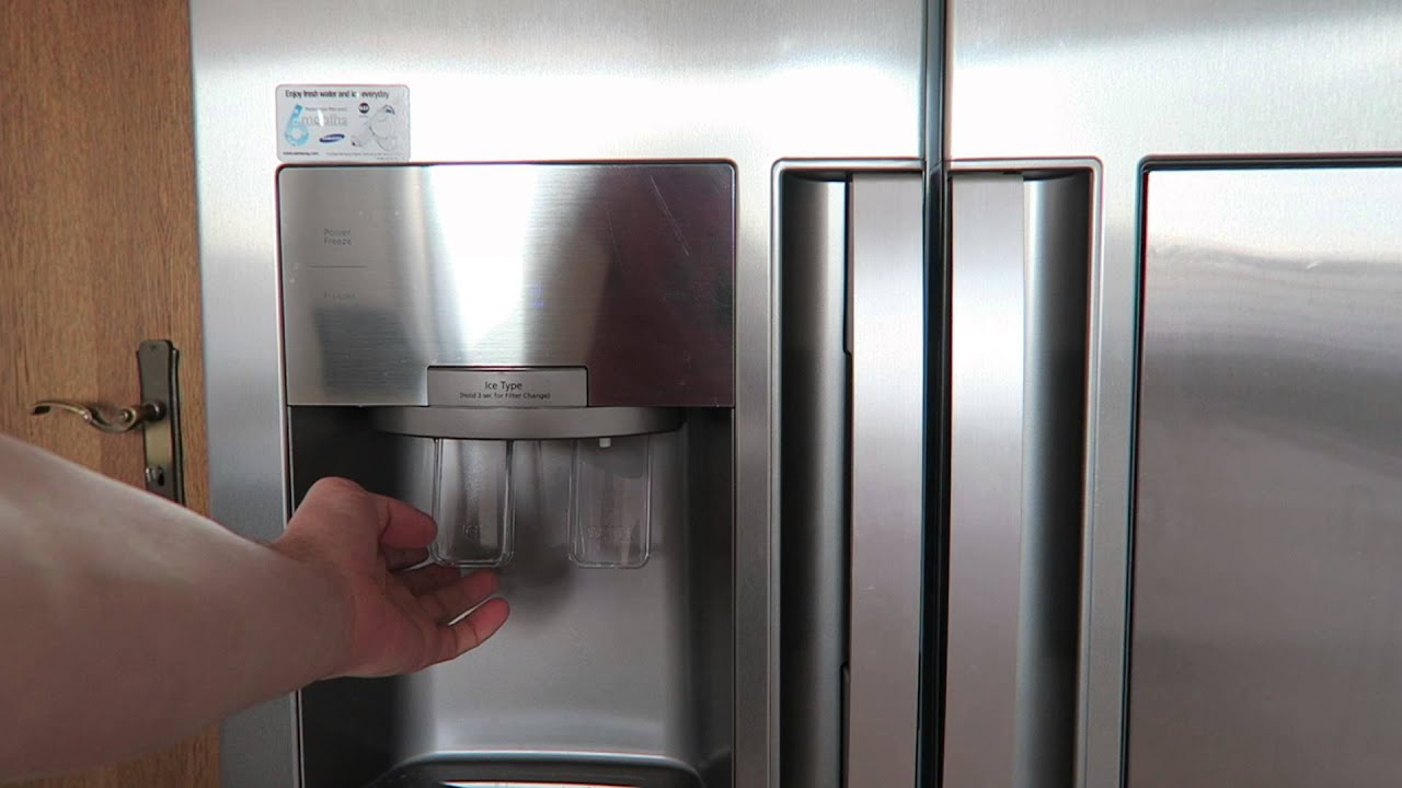 Side By Side Kühlschrank Ice Crusher : Samsung sbs side by side twin cooling eis frischwasser