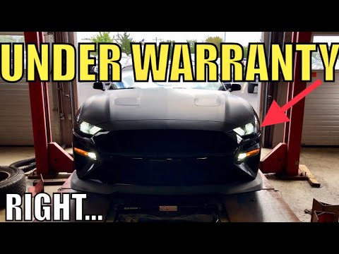 Why Take a MODIFIED 2018 Mustang GT to Dealer for Service!