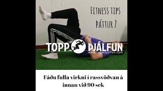 Fitness tips - þáttur 7