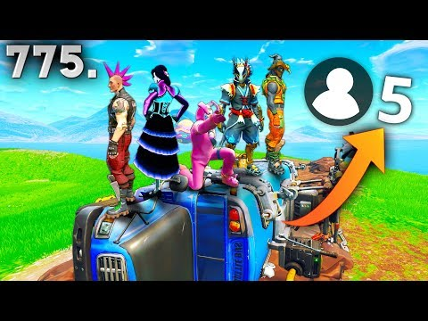 ONLY 5 PLAYER GAME!! - Fortnite Funny WTF Fails and Daily Best Moments Ep. 775 thumbnail