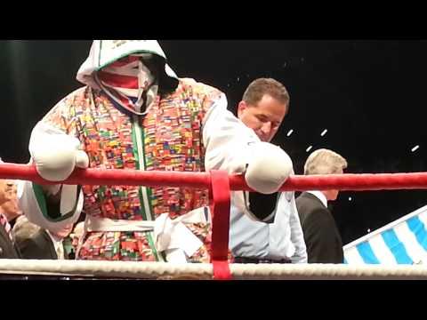 Dereck Chisora ring entrance v David Haye
