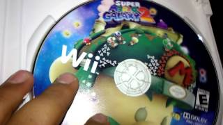 Unboxing Super Mario galaxy 2🎮