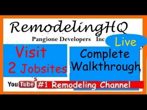 HOME IMPROVEMENT REMODELING VLOG - 2 sites walkthrough