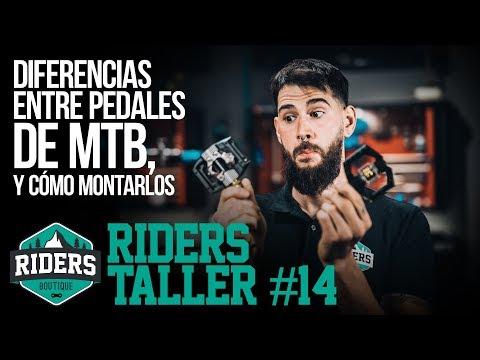 Diferencias Entre Pedales De MTB, Y Cómo Montarlos. Riders Taller #14