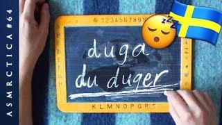 ASMR Swedish Positive Affirmations | Du Duger | Close-Up Ear-to-Ear