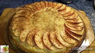 Кремово-фруктовый пирог на песочном тесте. Просто, но очень вкусно!