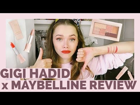 Gigi Hadid X Maybelline Honest Review | First Impressions