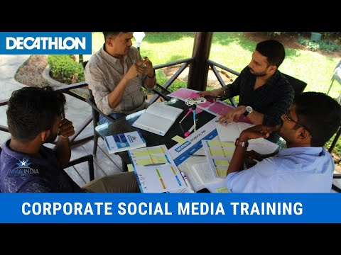 Social Media Trainings For Decathlon Sports Bangalore, India By Web Marketing Academy #decathlon