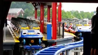 Millennium Force Track Switching