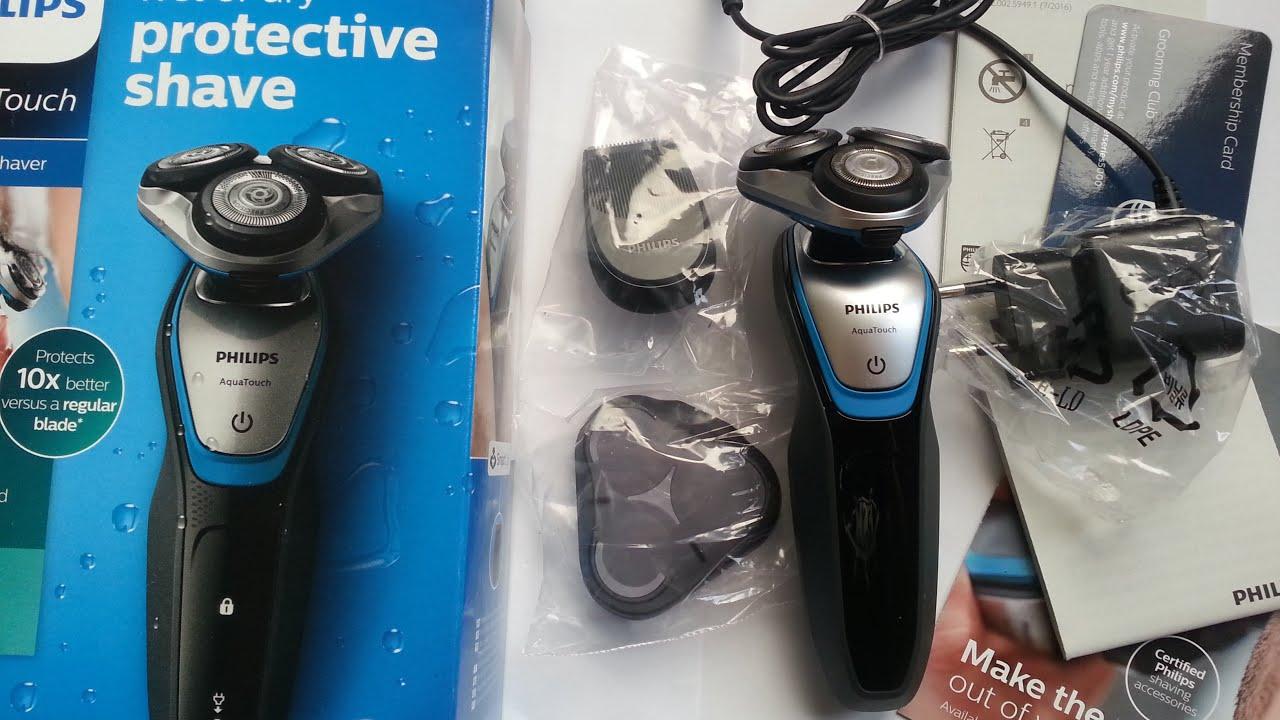 Philips S5400 06 Aqua Touch Electric Shaver with Smart Click Precision  Trimmer 8871e7ff996