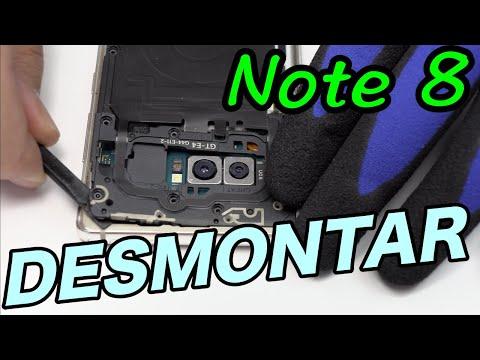 Desmontar Samsung Note