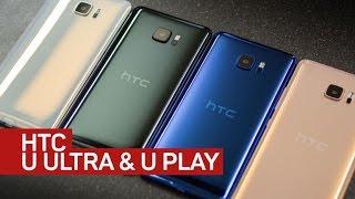 HTC U Ultra, U Play get into AI