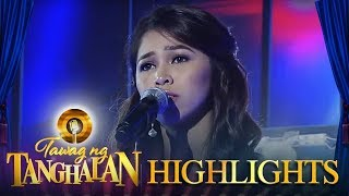 "Tawag ng Tanghalan: Marielle Montellano performs her rendition of ""Never Enough"""