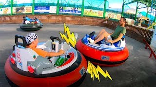 Ride on Power Wheels Cars at Amusement Park | Family Fun Playtime with Timko Kid & Daddy