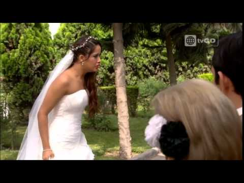 Shirley se enfrentó a Fernanda por haber frustrado su boda - Al fondo hay sitio - 26/05/2015