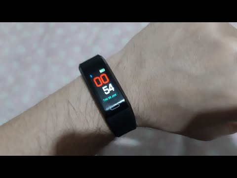 Nuband Pro HR GPS Tracker smart watch Unboxing and full review.