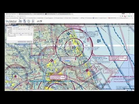 Easiest way to file for COA FAA Airspace Authorization Waiver to fly your drone legally! Radius map