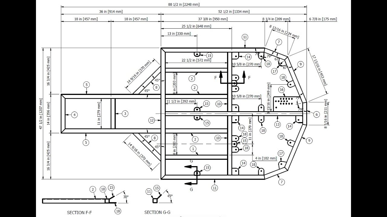 Badlandbuggy st4 plans drawings pt 1 drawing base frame for Building planning and drawing free pdf download