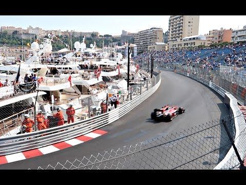 VIEW FROM ALL THE TRIBUNES OF 2017 GRAND PRIX OF MONACO FORMULA 1